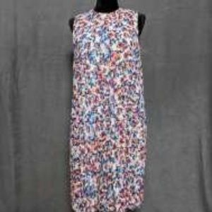 nicole 16 Flowered pleated dress